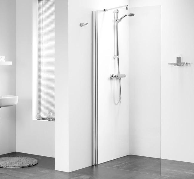 freistehende dusche duschabtrennung 75 x 195 cm. Black Bedroom Furniture Sets. Home Design Ideas