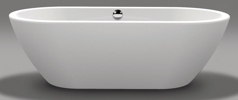 freistehende oval badewanne 190 x 90 x 45 60 cm sch rze. Black Bedroom Furniture Sets. Home Design Ideas