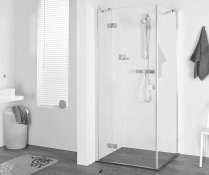 dusche t r seitenwand 90 x 90 x 195 cm duschabtrennung dusche t r mit seitenwand dusche dreht r. Black Bedroom Furniture Sets. Home Design Ideas