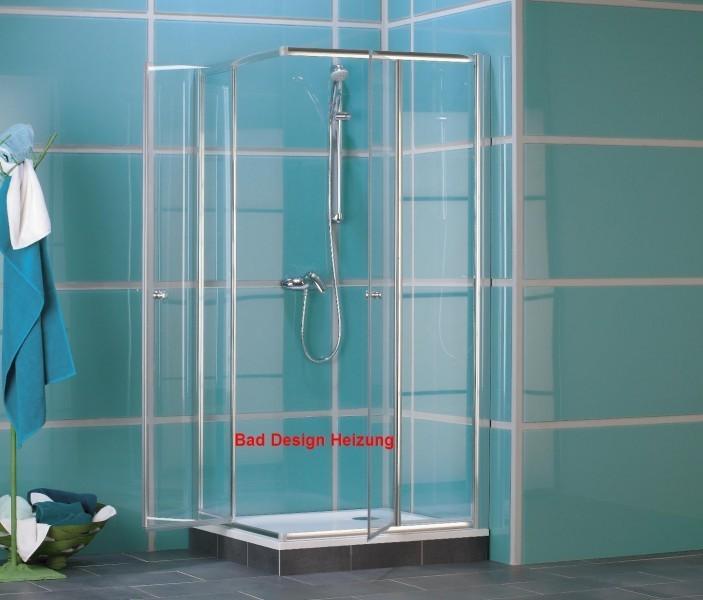 Duschabtrennung duschkabine dusche eckeinstieg glas ebay for Bad design heizung