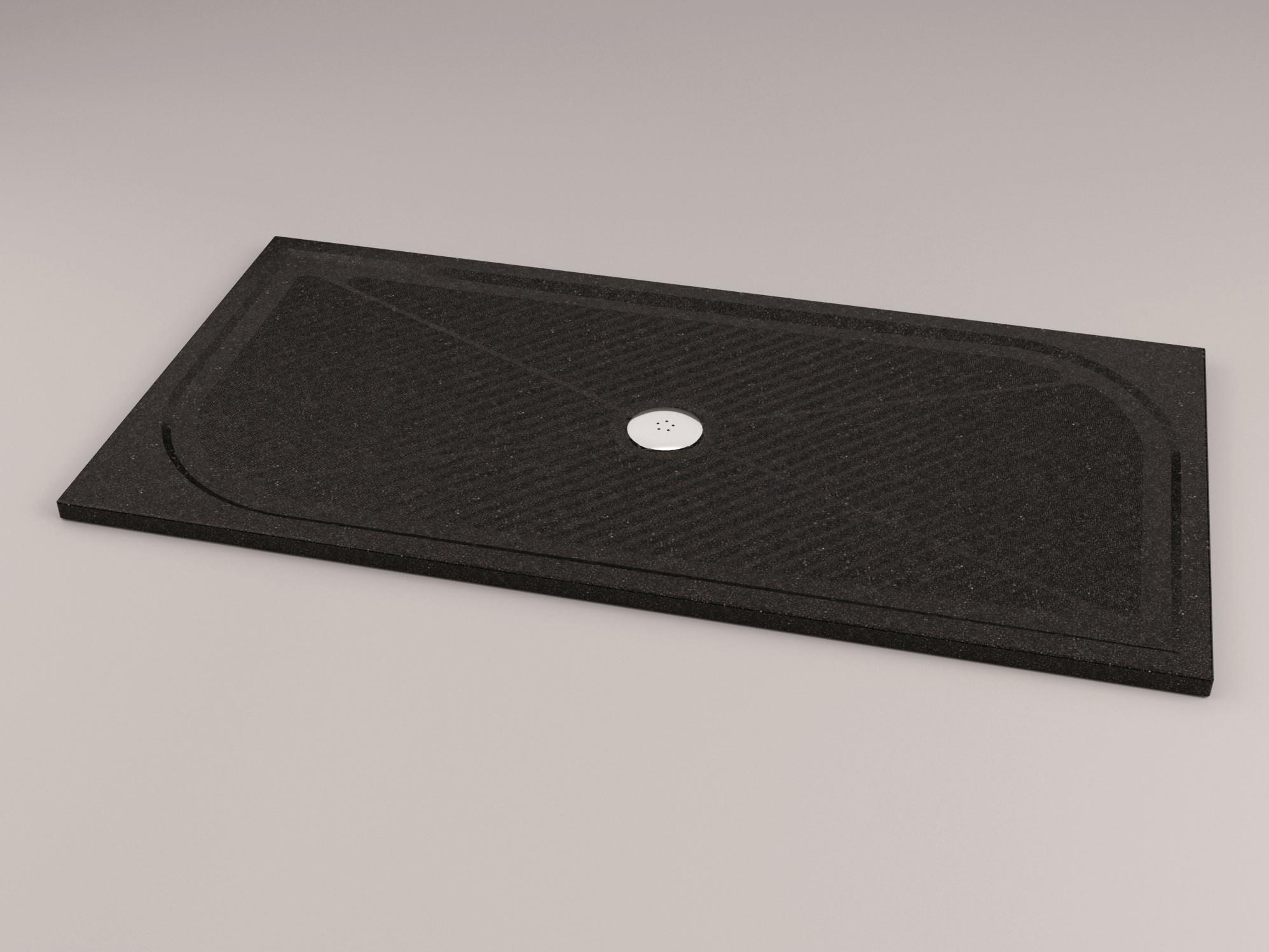 mineralguss duschwanne 140 x 80 x 1 5 cm duschwanne duschtasse rechteck rechteckduschwanne sch rze. Black Bedroom Furniture Sets. Home Design Ideas