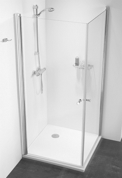 Dusche Pendelt?r Eckeinstieg : Duschabtrennung Dusche Eckeinstieg Duschkabine Eckeinstieg 100×100