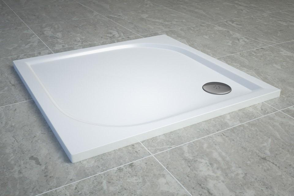 Dusche Eckeinstieg 100x100 : ... 100 x 100 cm Duschwanne Duschtasse ...