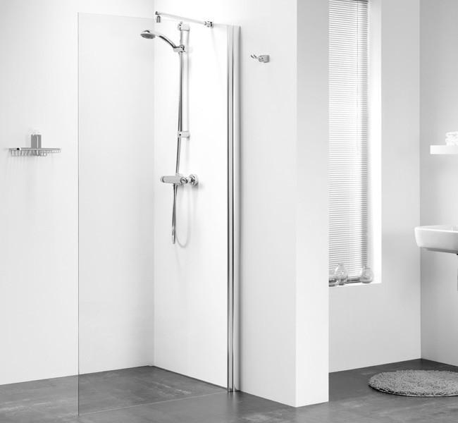 Freistehende Dusche Glas : freistehende Dusche Duschabtrennung 90 x 195 cm Walk In