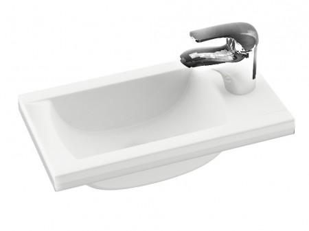 mini waschbecken 40 x 22 cm waschtisch. Black Bedroom Furniture Sets. Home Design Ideas