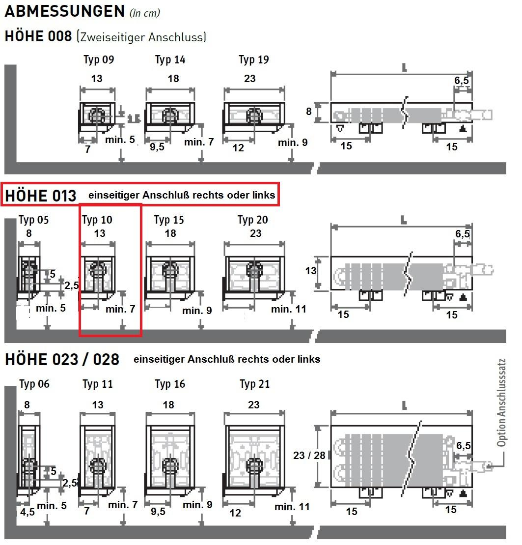 heizk rper geringer bauh he bis 300 cm lang. Black Bedroom Furniture Sets. Home Design Ideas