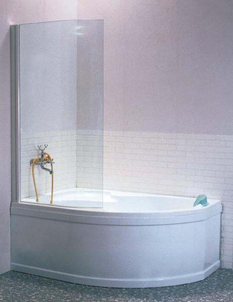 Duschabtrennung Badewanne 75 x 150 cm