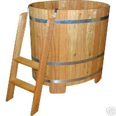 sauna tauchbecken badewanne holzbad. Black Bedroom Furniture Sets. Home Design Ideas
