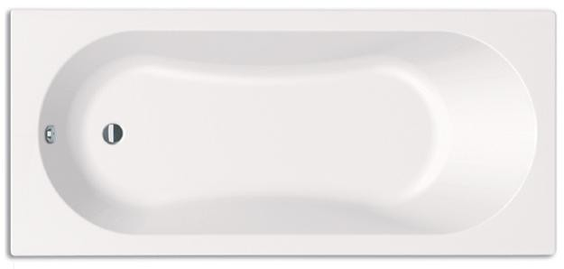 Badewanne 170 x 75 x 47 cm