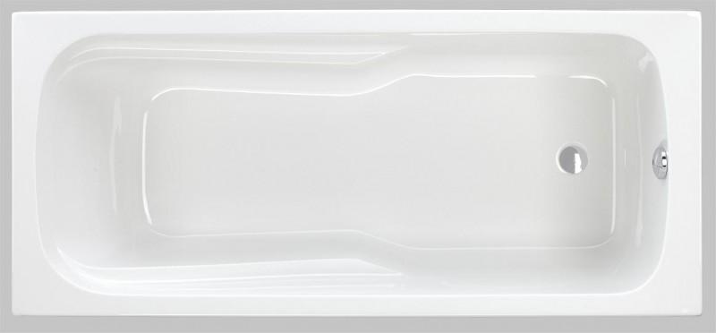 Badewanne 170 x 75 x 43 cm