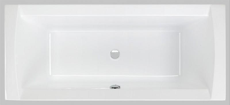 Badewanne 170 x 75 x 44 cm