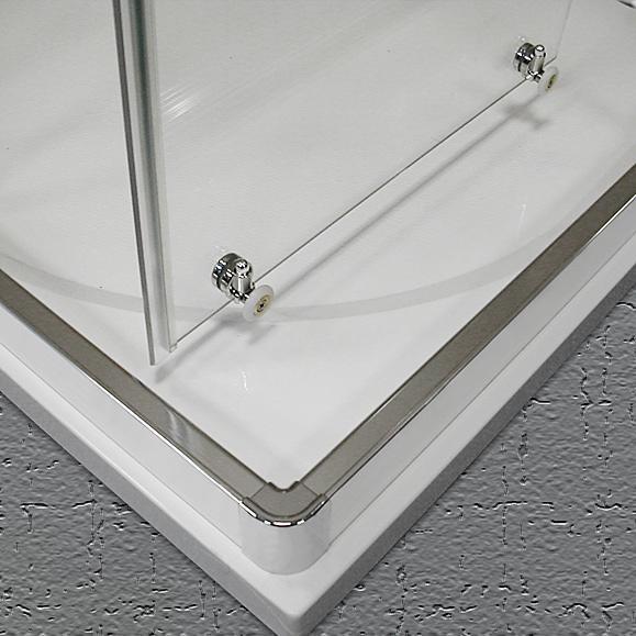 duschabtrennung eckeinstieg 75 x 90 x 190 cm schiebet r duschabtrennung dusche eckeinstieg. Black Bedroom Furniture Sets. Home Design Ideas