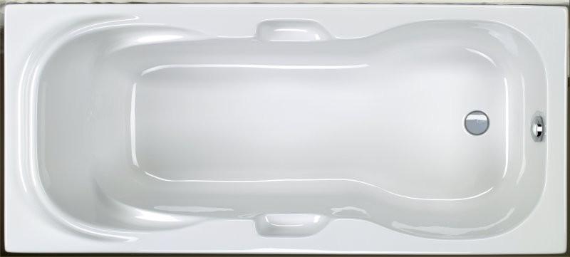 Badewanne 170 x 75 x 40 cm
